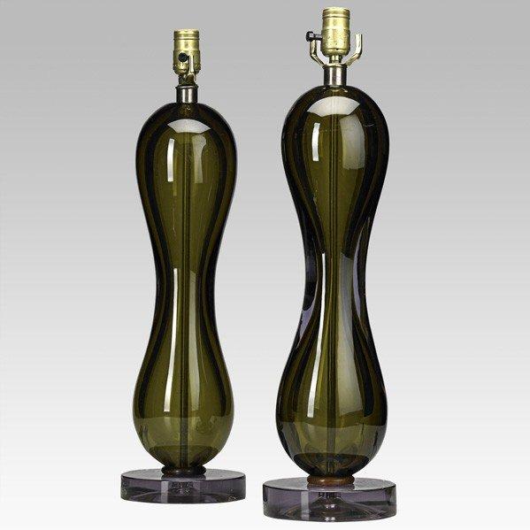 683: SEGUSO; Pair of table lamps