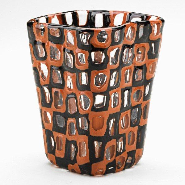 687: TOBIA SCARPA; VENINI; Occhi vase