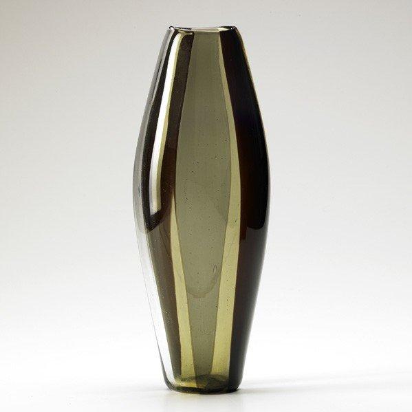 690: FULVIO BIANCONI; VENINI; A spicchi vase