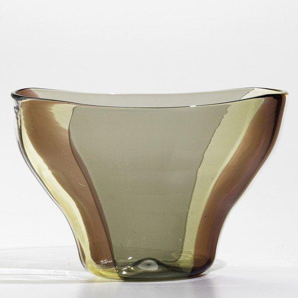 691: FULVIO BIANCONI; VENINI; A spicchi vase