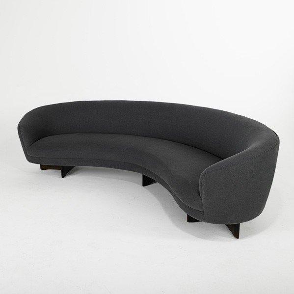 694: VLADIMIR KAGAN; Sofa