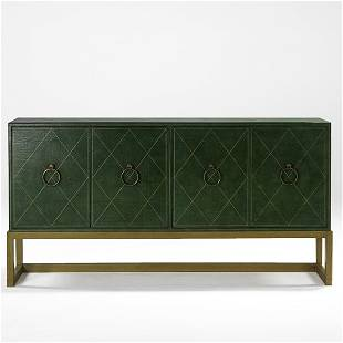 712: TOMMI PARZINGER; Four-door cabinet