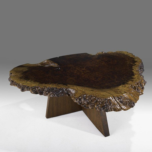 802: GEORGE NAKASHIMA Exceptional coffee table