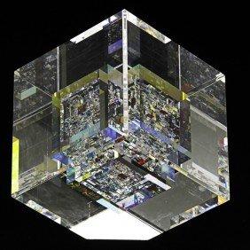 JON KUHN; Glass Sculpture