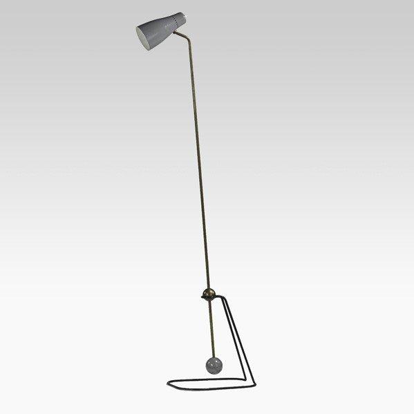 910: PIERRE GUARICHE; DISDEROT; Floor lamp