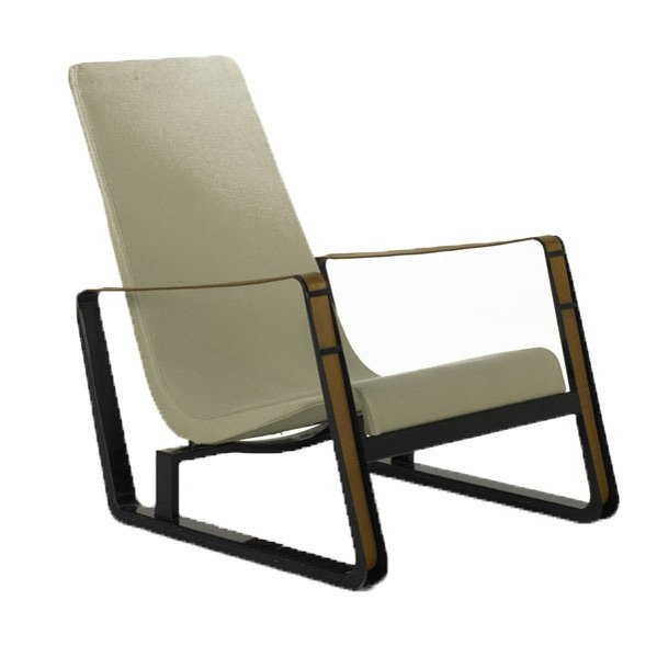 5: JEAN PROUVE; VITRA; Cite lounge chair, Germany, 2003