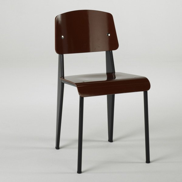 6: JEAN PROUVE; VITRA; Standard Chair, Germany, 2004; E