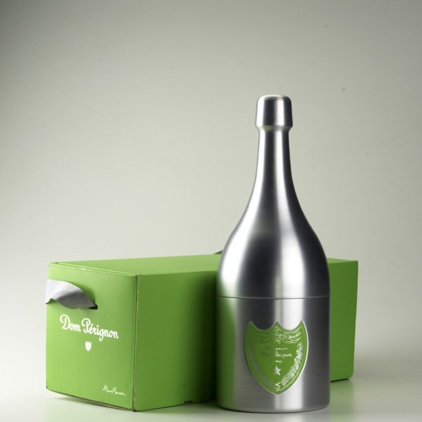 14: MARC NEWSON; DOM PERIGNON; Brushed aluminum champag