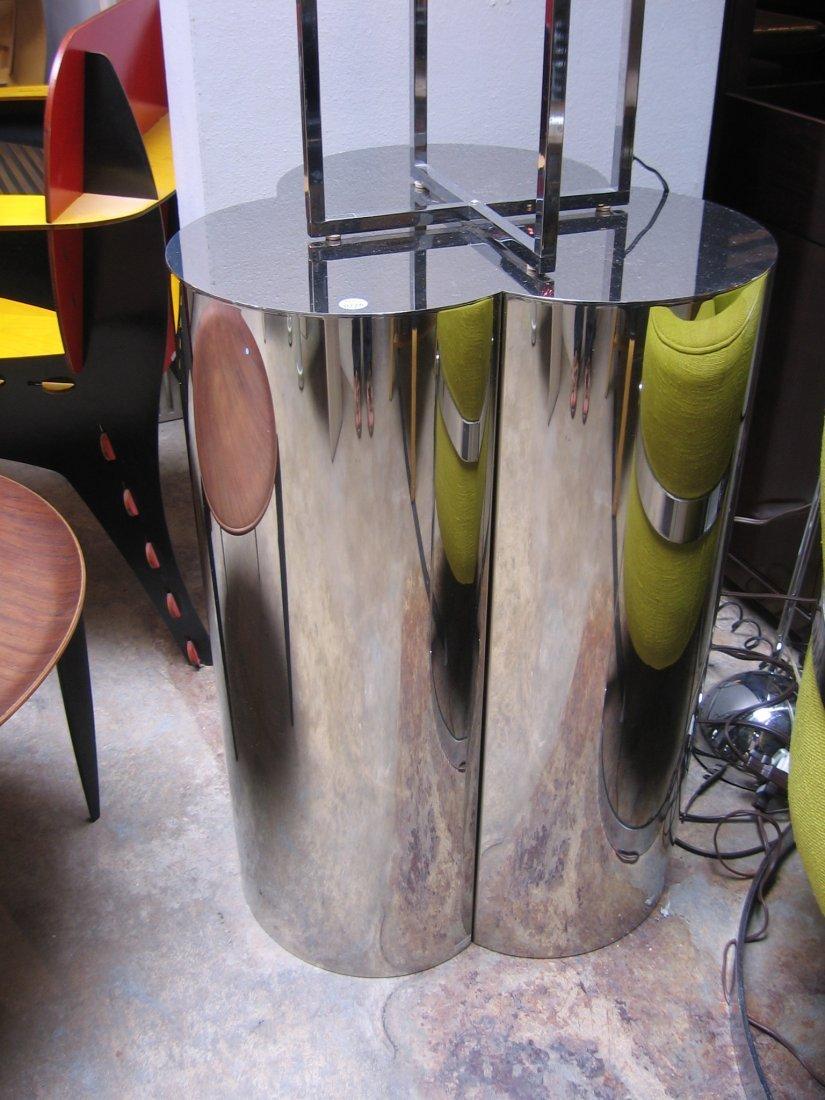 226: BRUETON; Pair of pedestals, USA, 1980s; Polished s - 3