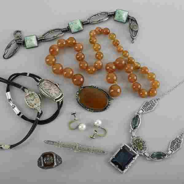 2245: COLLECTION OF 20TH C. JEWELRY