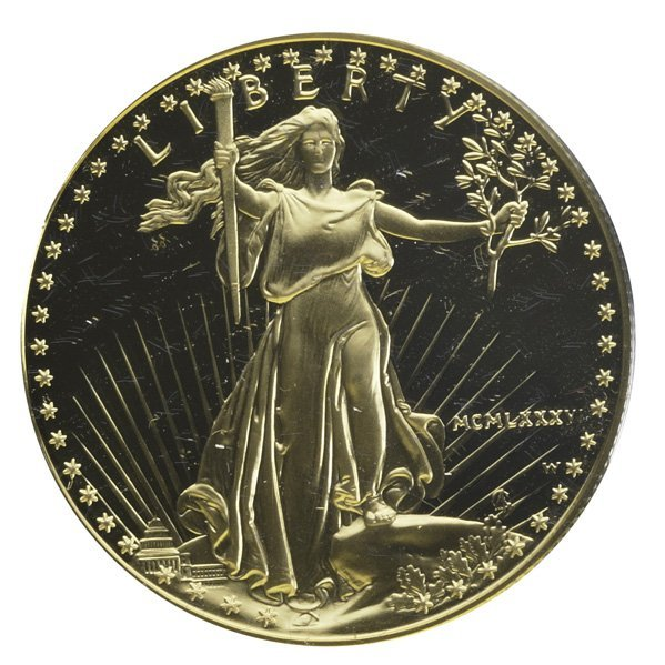 1007: U.S. 1 OZ. GOLD BULLION