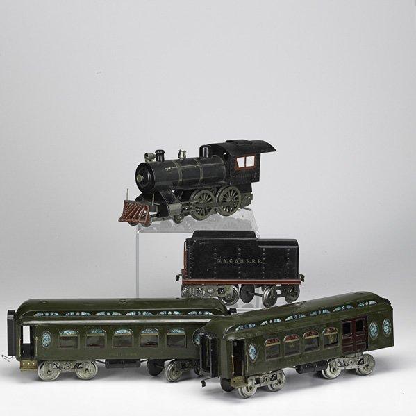1054: LIONEL TRAIN CARS & ACCESSORIES