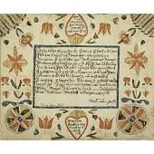 1160: PENNSYLVANIA GERMAN TAUFSCHEIN