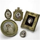 1585: PORTRAIT MINIATURE GROUP