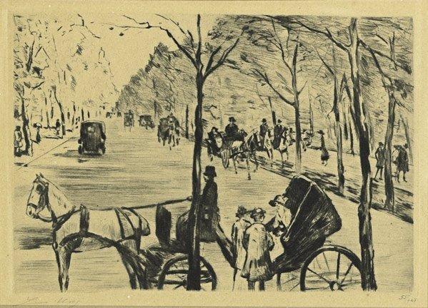 11: Lesser Ury  (German, 1861 - 1931)
