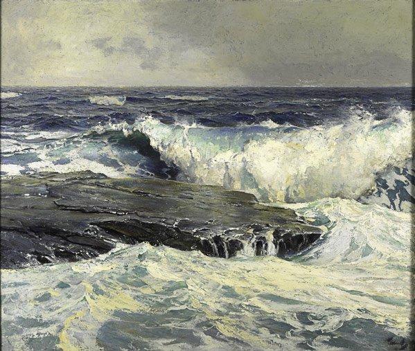 12: Frederick Judd Waugh  (American, 1861 - 1940)
