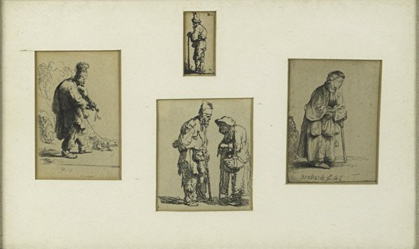 16: Rembrandt  Van Rijn (Dutch, 1606 - 1669)