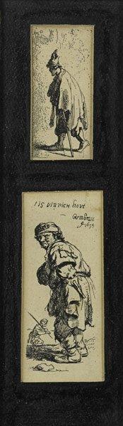 17: Rembrandt  Van Rijn (Dutch, 1606 - 1669)
