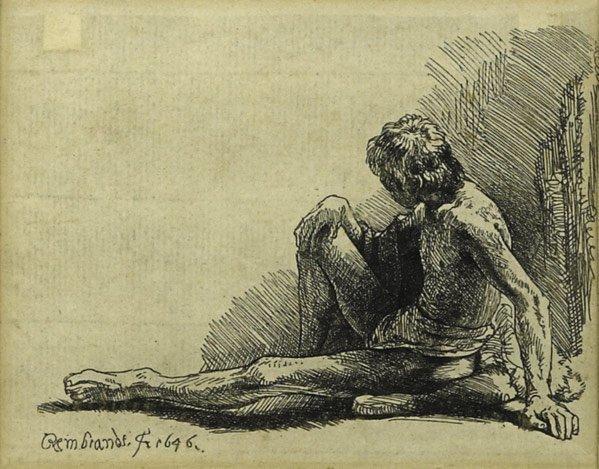 18: Rembrandt  Van Rijn (Dutch, 1606 - 1669)