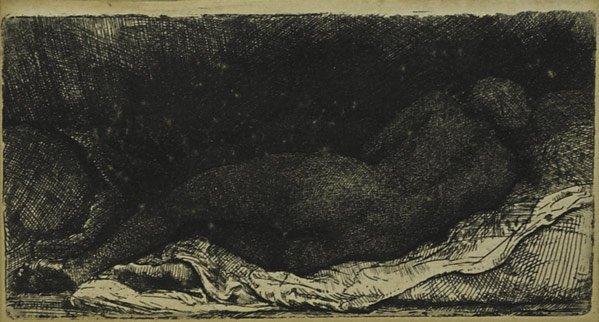 19: Rembrandt  Van Rijn (Dutch, 1606 - 1669)