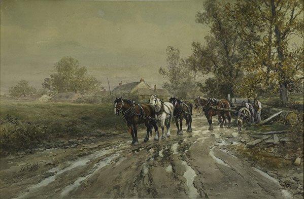 21: Frank F. English  (American, 1854 - 1922)