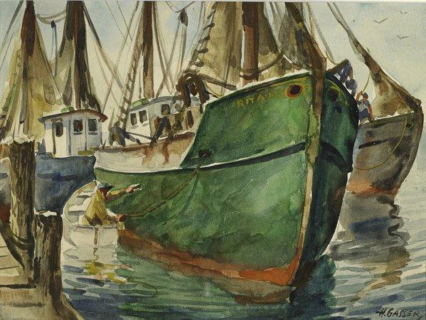 74: Henry Martin Gasser (American, 1909-1981)