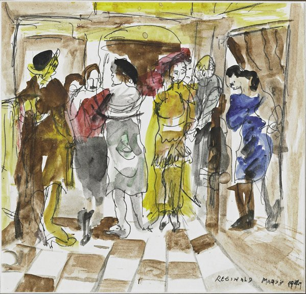 84: Reginald Marsh  (American, 1898 - 1954)