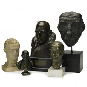 Portrait Busts Of Men