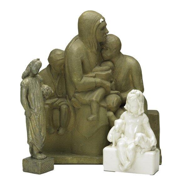 241: Sculptures of Children
