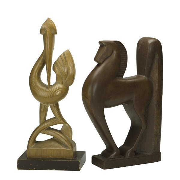 263: Wood Carvings of Animals