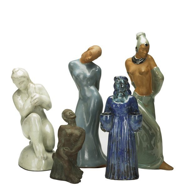 276: Female Figural Group