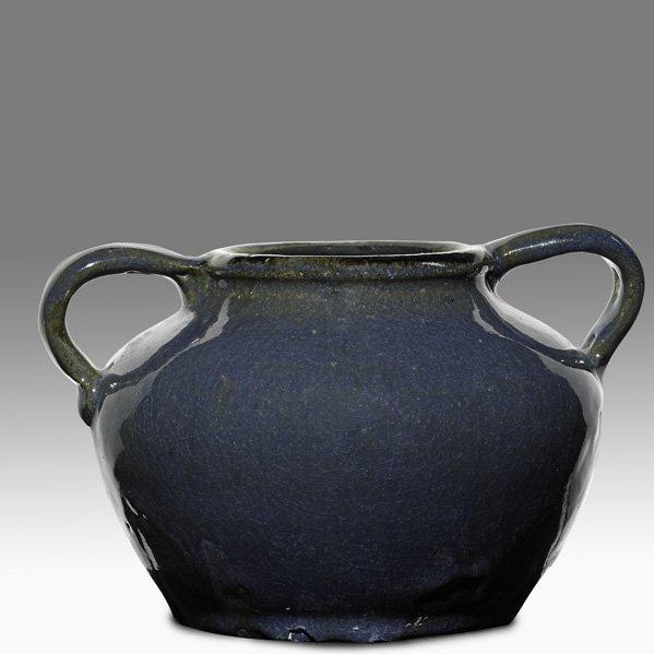 16: O.L. BACHELDER; OMAR KHAYYAM Two-handled vase