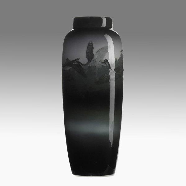 23: K.SHIRAYAMADANI; ROOKWOOD Exceptional vase