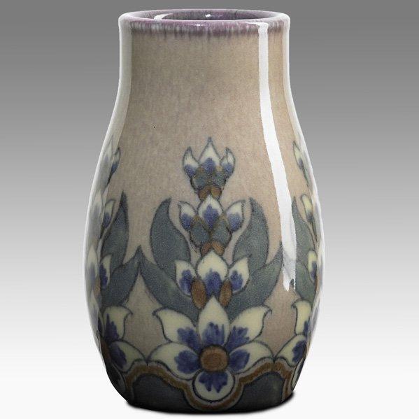 27: SARA SAX; ROOKWOOD Jewel Porcelain vase
