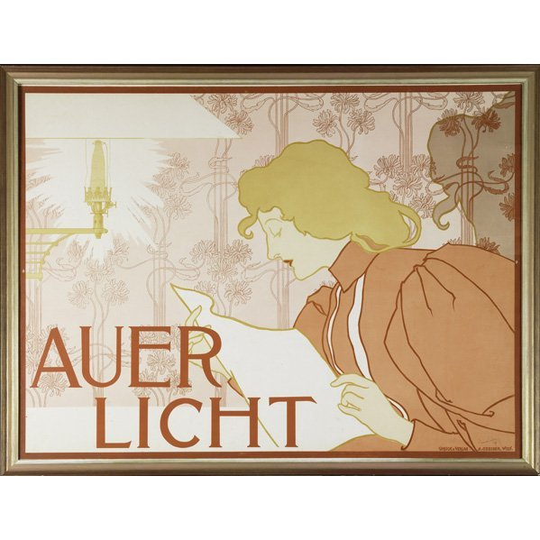 266: HEINRICH LEFLER (1863-1919) Poster