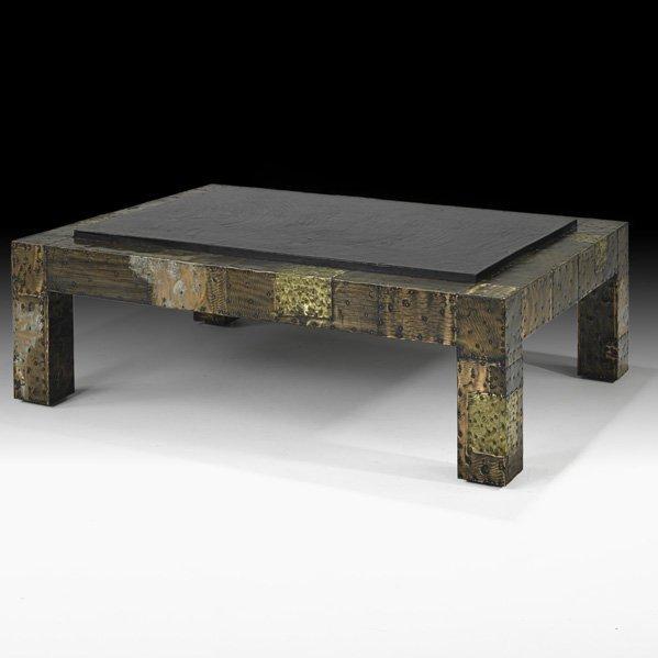 503: PAUL EVANS Patchwork coffee table