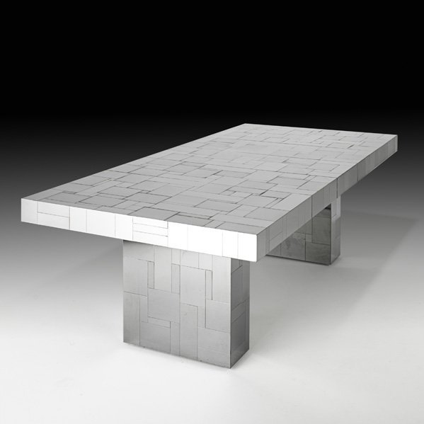 510: PAUL EVANS Cityscape dining table