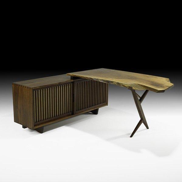 514: GEORGE NAKASHIMA Fine Conoid desk