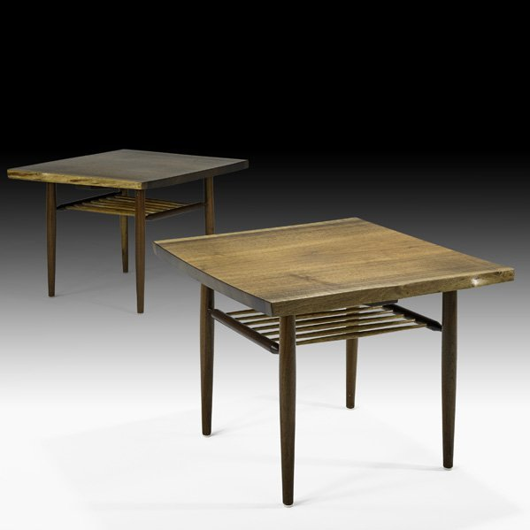 515: GEORGE NAKASHIMA  Pair of Rectangular End Tables