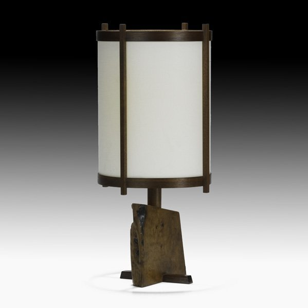 517: GEORGE NAKASHIMA Desk lamp