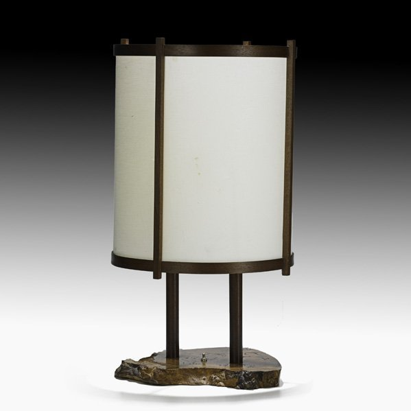 518: GEORGE NAKASHIMA Table lamp