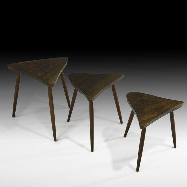 520: GEORGE NAKASHIMA Nesting tables