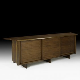 GEORGE NAKASHIMA  Special Triple Cabinet