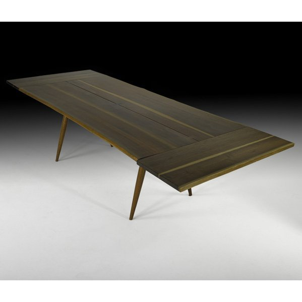 523: GEORGE NAKASHIMA Turned Leg Dining table