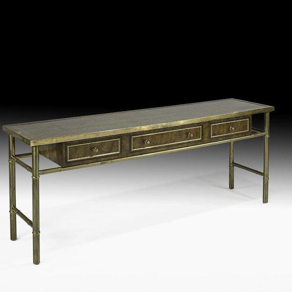 534: MASTERCRAFT Console table