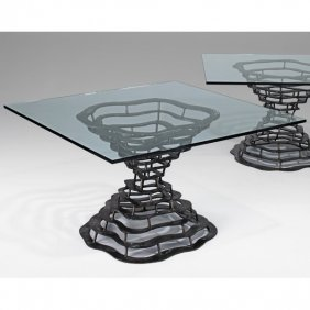 SILAS SEANDEL Volcano Dining Table