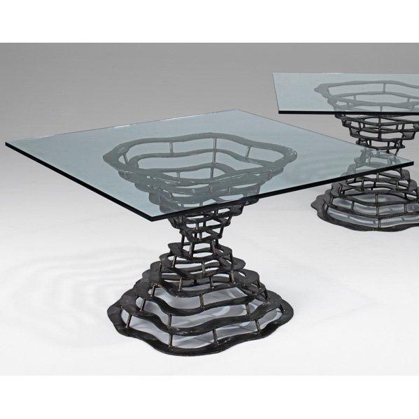 542: SILAS SEANDEL Volcano dining table