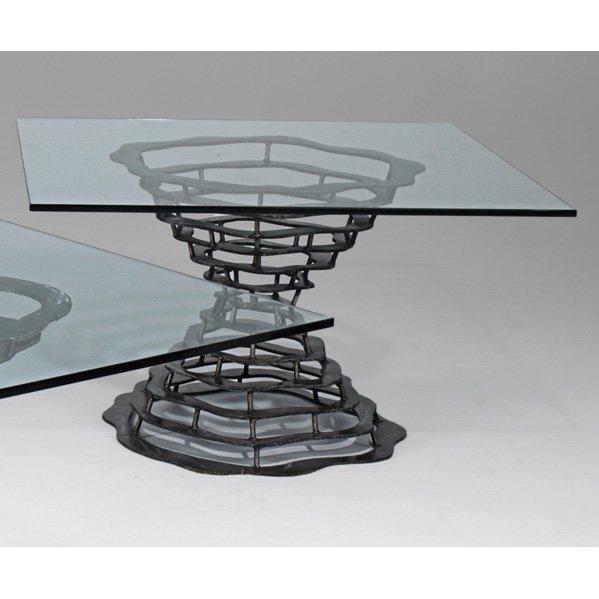 543: SILAS SEANDEL Volcano dining table