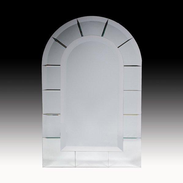 546: KARL SPRINGER Venetian mirror