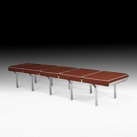 JOHN BEHRINGER Five-seat Bench